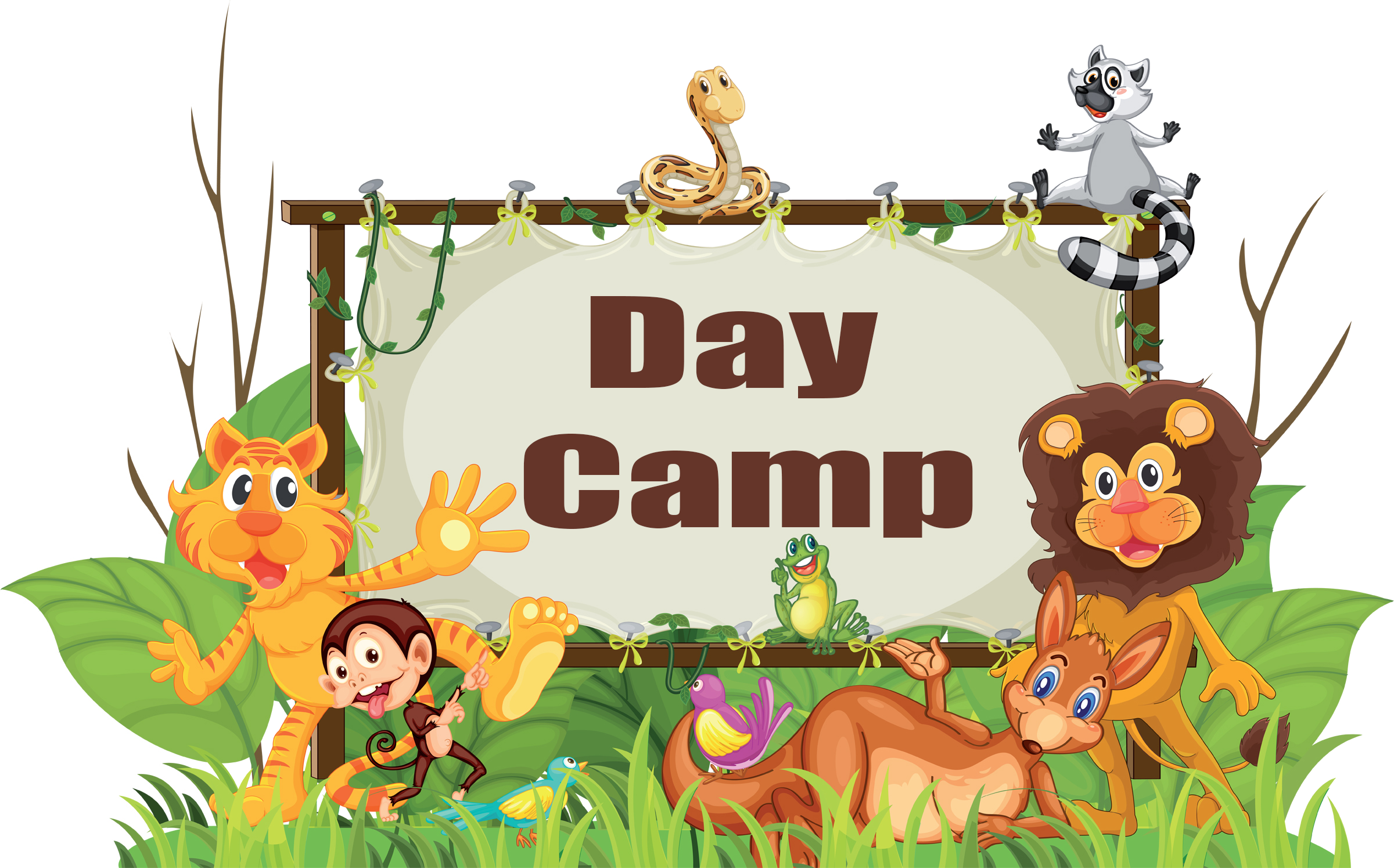 jungle theme  u2014 day camp  shac
